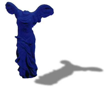 Yves Klein, Victory of Samothrace, 1962
